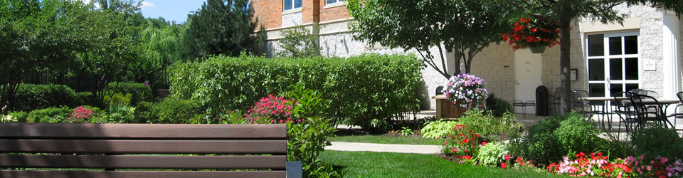 Attractive gardens and landscaping for our residents to enjoy outdoors
