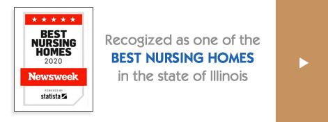 One of the best nursing homes in Illinois - Newsweek certificate