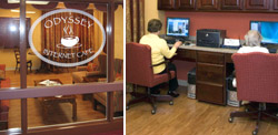 Odyssey Internet Cafe at Greek American Rehabilitation and Care Centre