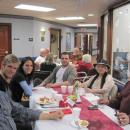 Family and friends at Family Holiday Brunch