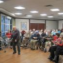 Family Holiday Brunch residents enjoy entertainment
