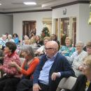 Family Holiday Brunch residents and guests enjoy entertainment
