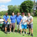 Alex Afshari (middle) and his guests at GARCC Golf Outing