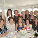 Stephanie Patsalis with guests at the Kali Orexi Luncheon and book signing